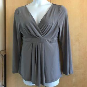 Cute grey blouse